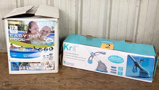 INTEX POOL & KRILL POOL CLEANER
