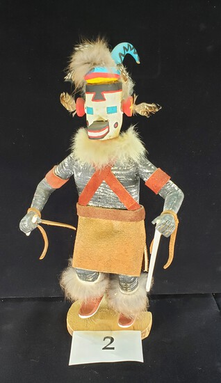 SIGNED MOUNTAIN SHEEP DANCER KACHINA DOLL