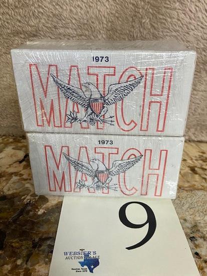 (4) BOXES MATCH BALL M 1911