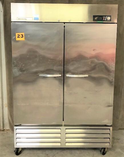 Beverage Air Stainless Double Door Refrigerator