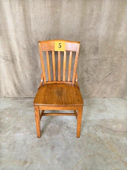 Lot of 20 Wood Dining Chairs