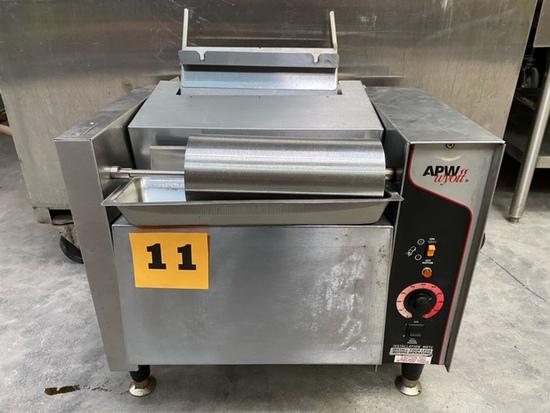 APW M-95-2 Vertical Toaster - 865 Bun Halves/hr w/ Butter Spreader
