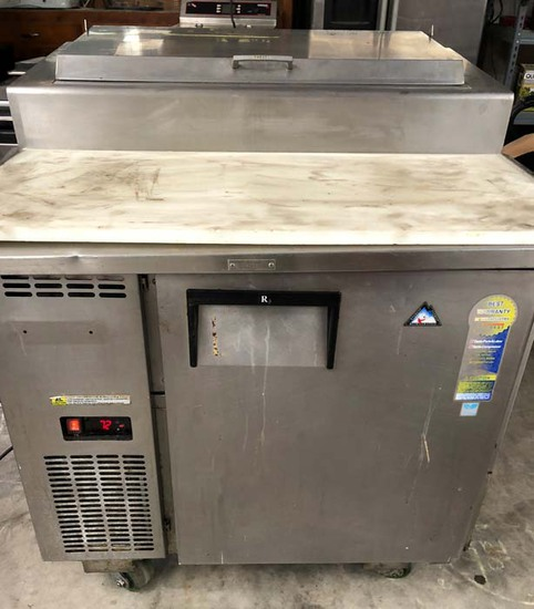 EVERST 1 SECTION REFRIGERATED PREP TABLE
