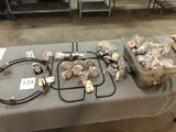 LOT OF HEATING ELEMENTS AND THERMOMETERA
