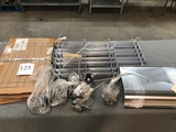 LOT OF HEATING GUARDS, KNOBS AND REFLECTORS