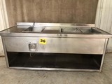 STAINLESS REFRIGERATED PREP STATION