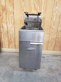 IMPERIAL DOUBLE FRYER WITH 3 BASKETS