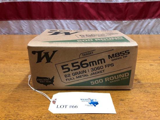 WINCHESTER 5.56 M855 500 ROUND RANGE PACK