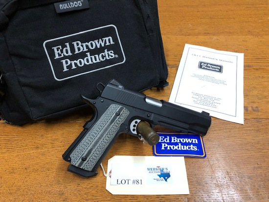 ED BROWN 1911 SPECIAL FORCES EDITION .45 ACP PISTOL