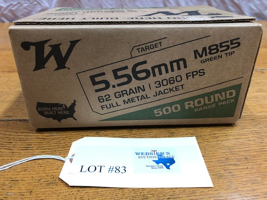 WINCHESTER 5.56MM M855 500 ROUND PACK