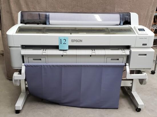 EPSON SURECOLOR T7000 COLOR PLOTTER WITH TONER