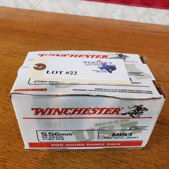 (1) BOX WINCHESTER 5.56MM