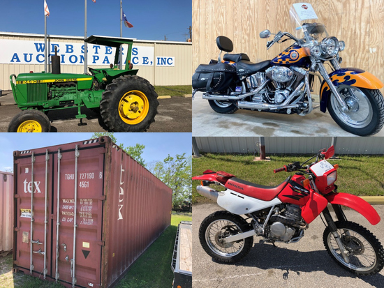TRACTORS, TRAILERS, TOOLS, EQUIPMENT & MORE