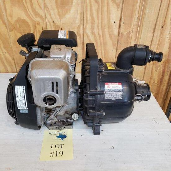 PACER PUMP MODEL 105446 WITH HONDA ENGINE