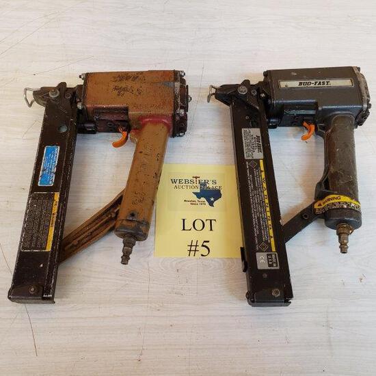 (2) NAIL GUNS