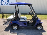 TOMBERLIN E-MERGE 500 ELECTRIC GOLF CART WITH FLIP DOWN DIAMOND PLATE BENCH