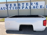 8' TRUCK BED WITH TAILGATE AND BUMPER