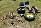 MISC. TRACTOR AND PLOW PARTS, TRACTOR SEAT