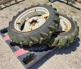 (2) TRACTOR TIRES SIZE 8.3/8-24