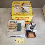 LOT OF STAPLES AND NAILS