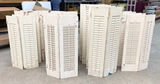 LARGE LOT OF SHUTTERS