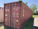 40' SHIPPING CONTAINER WITH 9.5' DOORS