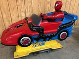 COIN OPERATED WORKING SPIDER MAN MOVING RIDE