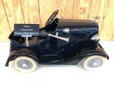 ORIGINAL ANTIQUE PONTIAC PRESSED STEEL CHILDS PEDAL CAR