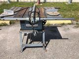 ROCKWELL MODEL 10 CONTRACTOR'S TABLE SAW