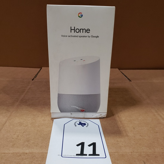 HOME VOICE ACTIVATED SPEAKER BY GOOGLE