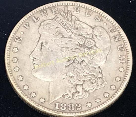 1882 - $1 Morgan Silver Dollar Coin