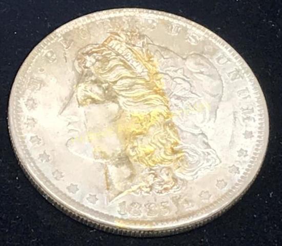 1885 - $1 Morgan Silver Dollar Coin