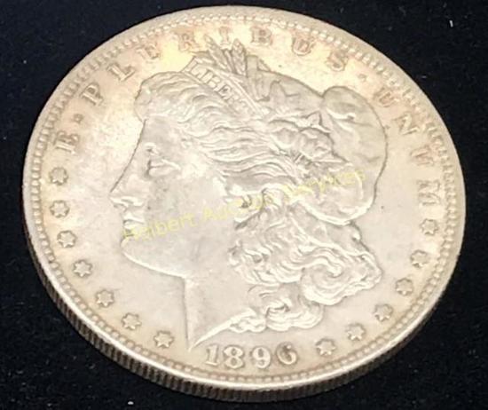 1896 - $1 Morgan Silver Dollar Coin