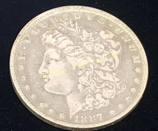 188-0 $1 Morgan Silver Dollar Coin