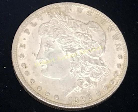 1896 -$1 Morgan Silver Dollar Coin