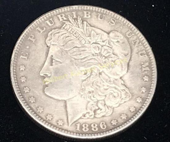 1886 - $1 Morgan Silver Dollar Coin