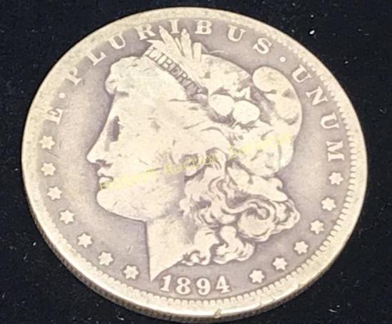 1894-0 $1 Morgan Silver Dollar Coin