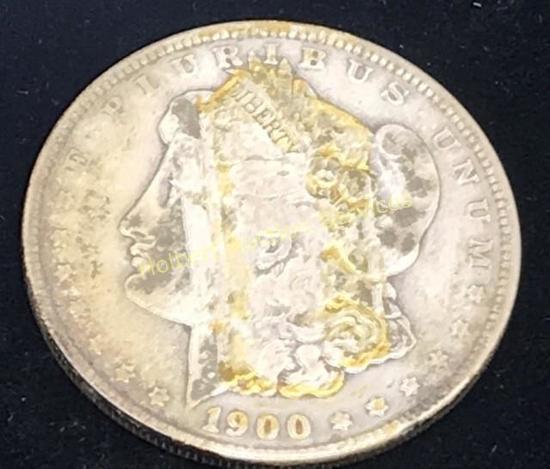 1900 - $1 Morgan Silver Dollar Coin