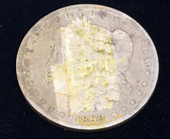1899-0 $1 Morgan Silver Dollar Coin