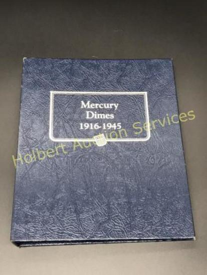 1916-1945 Mercury Dimes set