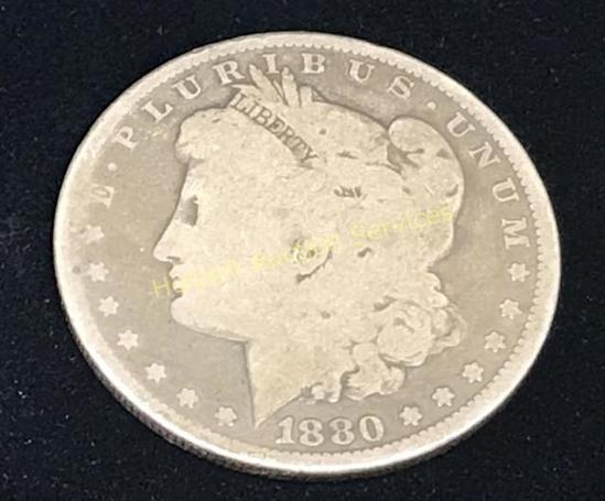 1880 - $1 Morgan Silver Dollar Coin