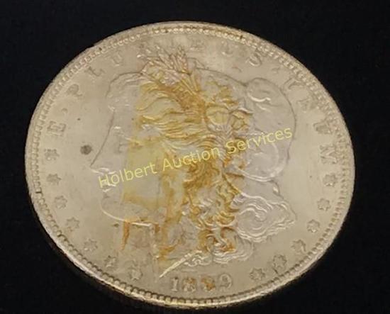1889 - $1 Morgan Silver Dollar Coin