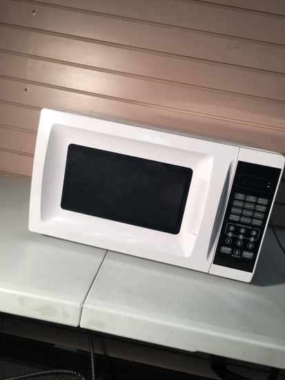 Walmart White Household Microwave Oven