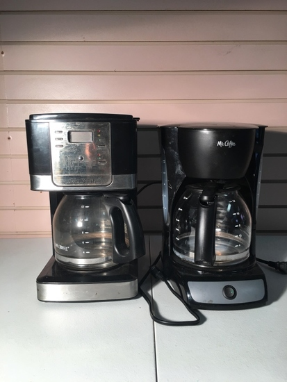 Black Mr. Coffee Coffee Pots