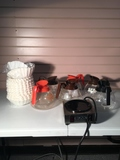 Assorted Commercial Coffee Pots Filters, six coffee pots, and Bunn warmer included