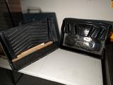 Large paint trays w/ stirring sticks