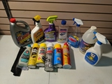 Cleaning supplies and misc.