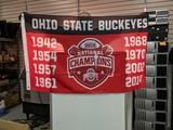 Ohio State flag Just flag