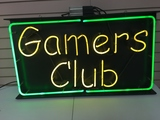 Gamers Club Neon Sign