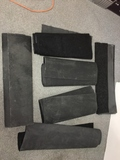 Group of Assorted Floor Mats Six different sizes of mats
